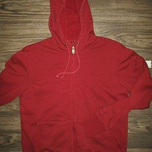 SCOTTeVEST Full Zip Hoodie Jacket (Mens Small) Red
